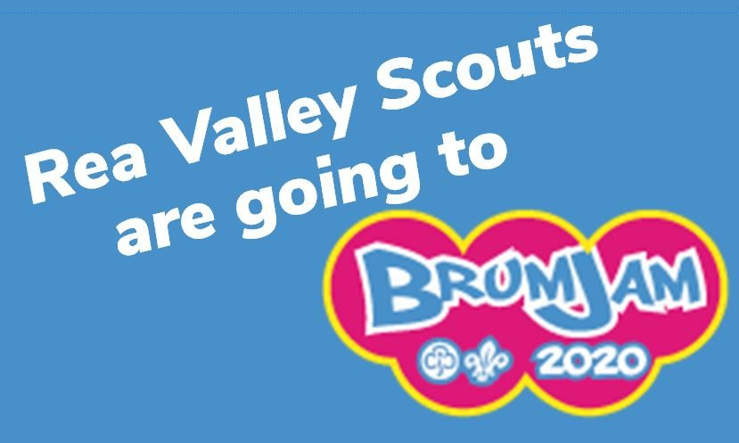 Rea Valley Scouts are going to BrumJam 2020